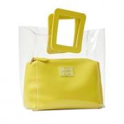 Ilse Jacobsen Transparent-Tasche, Gelb
