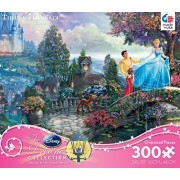 "Thomas Kinkade Disney Dreams COLLECTION ""Cinderella Wishes Upon A Dream"" 300 Piece Jigsaw Puzzle MAD"