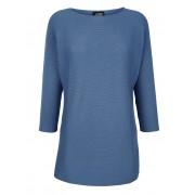 AMY VERMONT Pullover, Damen, blau, mit Fledermausärmel