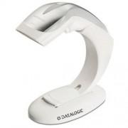 Баркод скенер Datalogic Heron HD3130, USB, стойка, бял