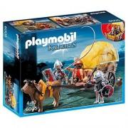 Playmobil knights carro trappola dei cavalieri del falcone 6005
