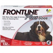 Frontline Plus 6pk Dogs 89-132 lbs by MERIAL