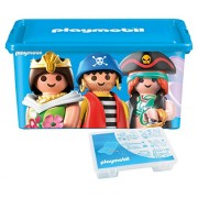 Playmobil 064672 Large 23-Litre Storage Box with Compartments, Mixed Compartmented