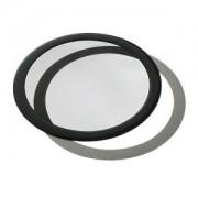 Filtru de praf DEMCiflex Dust Filter Round 225mm - Black/Black