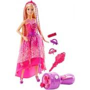 Barbie Endless Hair Kingdom Snap N Style Princess, Multi Color