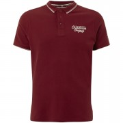 Crosshatch Men's Morristown Polo Shirt - Sun Dried Tomato - XXL - Red