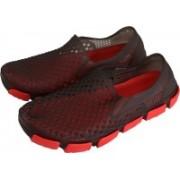 Falcon18 Super Comfortable, Premium Quality Men's Designer Slip-on and Crocs Clogs For Men(Red, Brown)