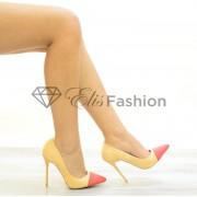 Pantofi Stilleto Peach #2046