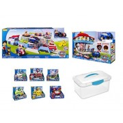 Paw Patrol Ultimate Playset - Paw Patroller, Lookout & Complete Figure & Vehicle Set with Exclusive Vehicle Storage Case