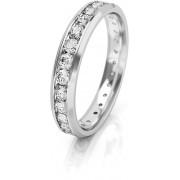 Art Diamond Verigheta pentru femei din aur alb cu zirconii AUGDR001 50 mm