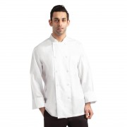 Chef Works Calgary Long Sleeve Cool Vent Unisex Chefs Jacket White XL Size: XL