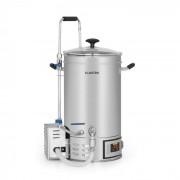Klarstein Brauheld 15, fierbător, 15 litri, 30 - 140 °C, pompă de circulație, oțel inoxidabil (BRD3-Brauheld15)