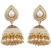Jewels Gehna Party Wear Fashion Designer Unique Traditional Multi Color Jhumki Earring Set For Women Girls