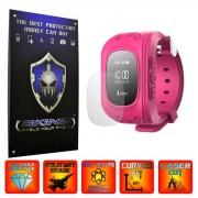 Ceas GPS Copii Wonlex Q50, GW300 - Folie INVISIBLE SKINZ UHD, Protectie de Ecran Ultra Clear AutoRegeneranta, Full Glue ( Set 2 Folii)