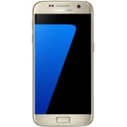 "Telefon Mobil Samsung Galaxy S7, Procesor Octa-Core 2.3GHz / 1.6GHz, QHD Super AMOLED Capacitive touchscreen 5.1"", 4GB RAM, 32GB Flash, 12MP, 4G, Wi-Fi, Dual Sim, Android (Auriu) + Cartela SIM Orange PrePay, 6 euro credit, 6 GB internet 4G, 2,000 minute n"