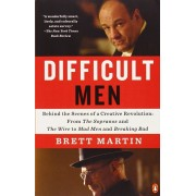 Difficult Men: Behind the Scenes of a Creative Revolution: From the Sopranos and the Wire to Mad Men and Breaking Bad, Paperback