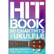 Bosworth Music Hit Book - 80 Charthits für Ukulele