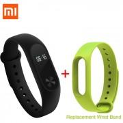 """xiaomi 0.42"""" pantalla tactil OLED mi banda 2 pulsera inteligente + reemplazar banda"""