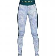 Under Armour Women's HeatGear Armour Printed Leggings - Green - M - Green
