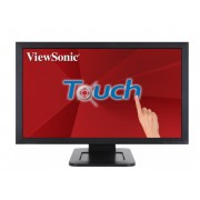 "Touch Screen, Viewsonic 24"", TD2421, 5ms, 50Mln:1, HDMI/DVI/VGA, Speakers, FullHD"