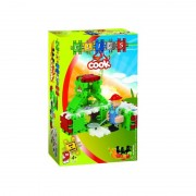 Set de constructie Bucatareasa Clics Toys, 44 piese, figurina inclusa