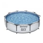 Familjepool - Steel Pro Max pool 4.678L 305x305x75 cm (Bestway barn & familjepool 56408)