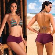 V&V Dámské kraťáskové plavky - spodní díl (L) - V&V