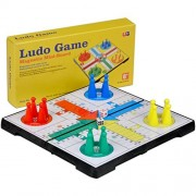 Folding Travel Magnetic Ludo Set- 6.5