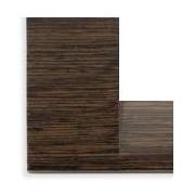 > Idea - placca Classica in legno naturale 4 posti wengè naturale