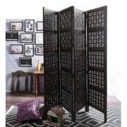 Shilpi Mango Wood Partition Screen Room Divider NSHC0297