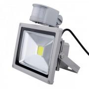 Proiector LED 50W cu Senzor Miscare Alb Rece 220V