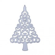 Rrimin Christmas Flower Tree DIY Metal Stencil Embroidery Craft Cutting Die
