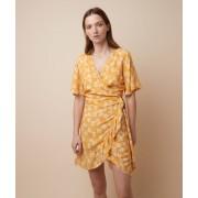 Etam Robe imprimé floral - PAM - L - Jaune - Femme - Etam