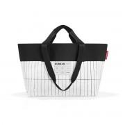 reisenthel - urban bag new york, schwarz / weiß