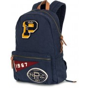 Polo Ralph Lauren Patch Canvas Backpack Navy
