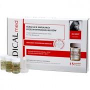 Ideepharm Radical Med Anti Hair Loss sérum de cuidado contra queda capilar para mulheres 15x5 ml