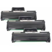 3x Kompatibel Toner HP W1106A / 106A f. HP Laser MFP 135w /135 w