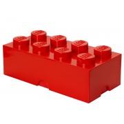40041730 Cutie depozitare LEGO 2x4 rosu