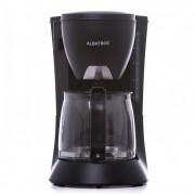 Filtru de cafea Albatros Verona Black 2, 680 W, 8 - 10 ceşti, 1.2 L, Functie antipicurare, Cană de sticlă, Negru