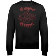 The Christmas Collection Sudadera Navidad Gangster Wrapper - Hombre/Mujer - Negro - L - Negro