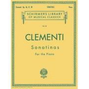 Muzio Clementi: Sonatinas for the Piano, Opus 36, 37, 38, Paperback