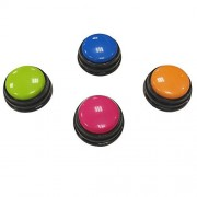 D-Jeesian Funny Sound Answer Buzzers for Classroom Games Set of 4