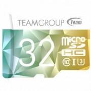 КАРТА ПАМЕТ TEAM GROUP COLOR CARD II 32GB MICRO SDHC/SDXC UHS-I U3 + SD ADAPTER, TEAM-SDMICRO-32-C10