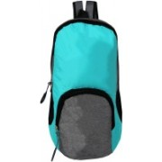 SEASONFRANK Outdoor Travel Backpack For Hiking Camping, Mini Small Backpacks Rucksack 10L Backpack (SKY BLUE AND GREY, 10 L) 10 L Backpack(Blue, Grey)