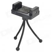 Ajustable tripode de camara + Holder + Adaptador Tornillo + Largo Set para GoPro heroe 1/2/3/3 + - Negro