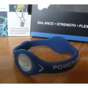 Balanční náramek s hologramem Power Balance - tmavě modrý-bílý