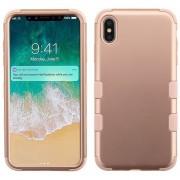 Funda Case Iphone Xs Max protector Uso Rudo Tuff - RoseGold