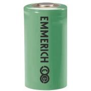Baterie litiu 2/3 AA, 3,6 V, 1600 mAh, Emmerich