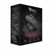 White Shark Mouse Gaming USB 3200dpi 6 Tasti Hannibal-2 GM-3006 Nero