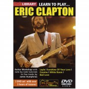 Roadrock International Lick Library: Learn To Play Eric Clapton DVD